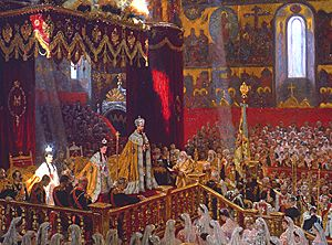 Coronation of Nicholas and Alexandra