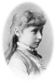Alexandra as a child