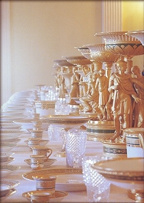 & Russian Imperial Style - Table Settings of the Tsars