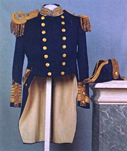 Uniform of an Admiral of the British Navy of Nicholas II