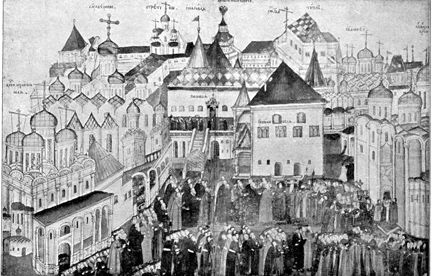 Cathedral Square in the XVII Century