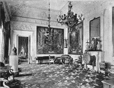 The Silver Salon in the Kremlin