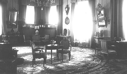View of the Formal Reception Room in the Alexander Palace