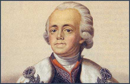 In 1801 a Conspiracy to Murder the Tsar was stopped.