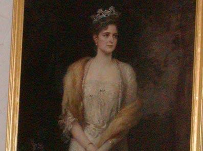Kaulbach's Painting of Alexandra