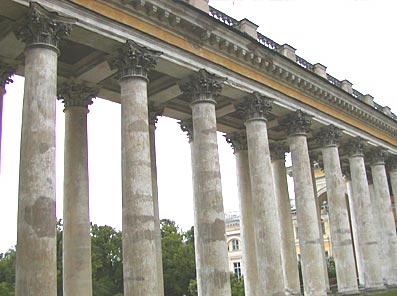 Palace Colonnade from the Inside
