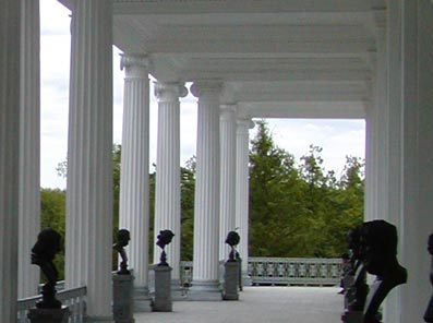 Within the Portico