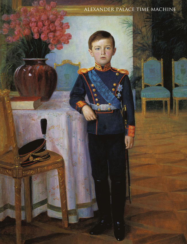 Tsarevich Alexis in the Portrait Hall