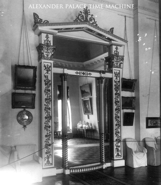Mirrored Door Billiard Room Alexander Palace