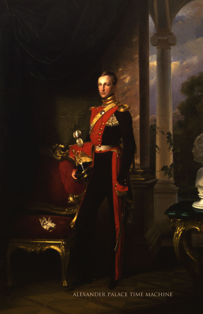 Painting by Franz Kruger of Romanov Grand Duke