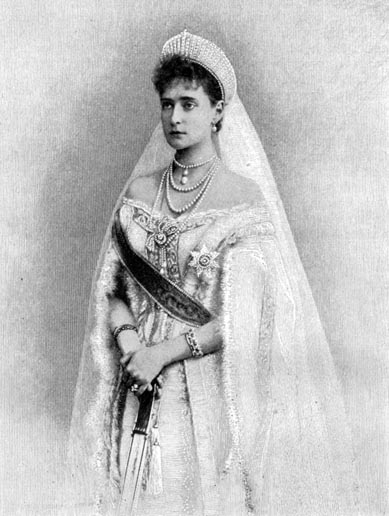 The Empress Alexandra of Russia