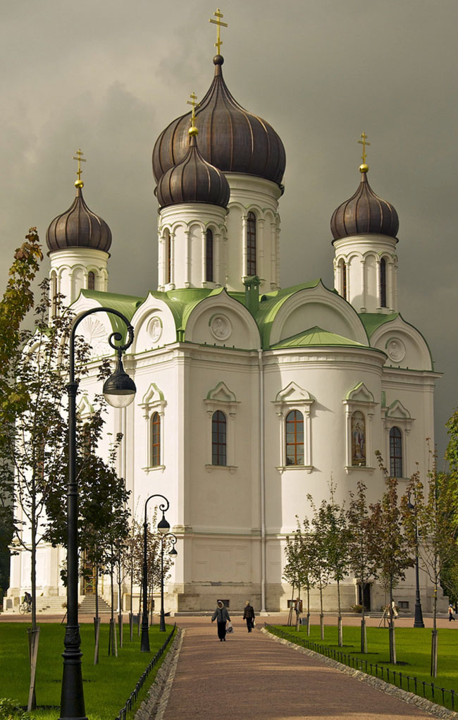 The Catherine Church in Tsarskoe Selo