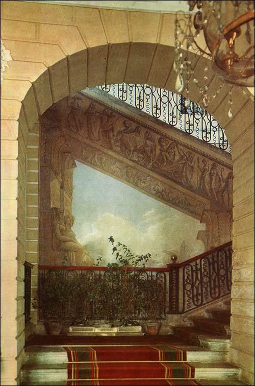 Egyptian Vestibule Pavlovsk Palace Amp Park Country