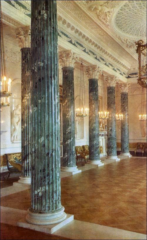 Grecian Hall Pavlovsk Palace Amp Park Country Residence