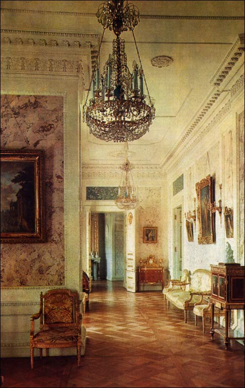 Drawing Room Furniture Design: Pavlovsk Palace & Park