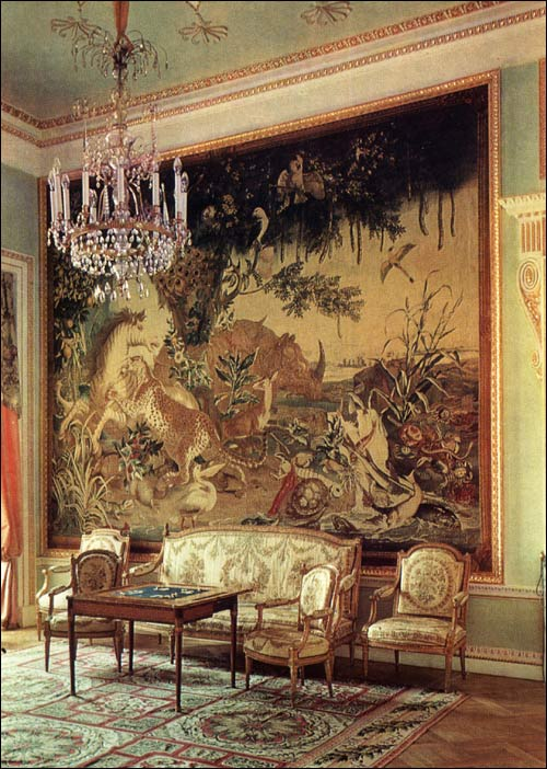 Old Drawing Room Pavlovsk Palace Amp Park Country