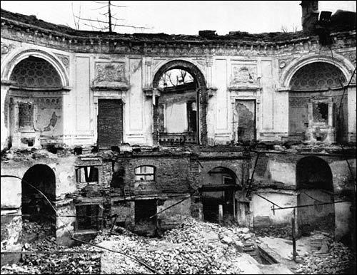 the ruined palace pavlovsk palace amp park country