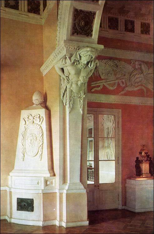 State Vestibule Pavlovsk Palace Amp Park Country