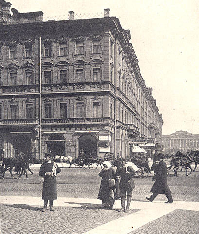St Petersburg 1900 Photo 10 The Hotel Europe A
