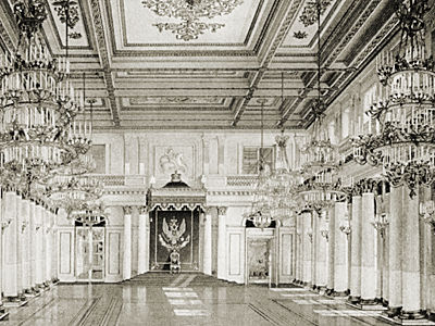 St Petersburg 1900 Photo 24 The Winter Palace A